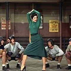 Because I can't think of an appropriate image for this story, enjoy this still of Cyd Charisse in It's Always Fair Weather.