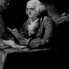 Benjamin Franklin, shown here in a 1767 portrait by David Martin, crusaded for liberty--even as he owned slaves for decades.