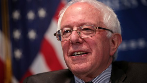 Bernie Sanders throws his hat in the ring