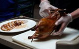 Best Place to Have a Duck Carved Tableside