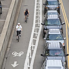 Bicycle weirdness: the data's a little woozy, but Chicago's #5