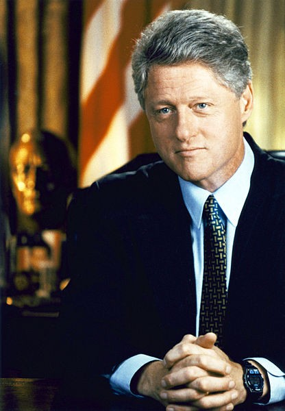 Bill Clinton, not trying to make it look like he lost vital nuclear codes.