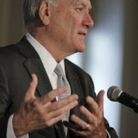 Quoting Shakespeare, Bill Daley says adieu