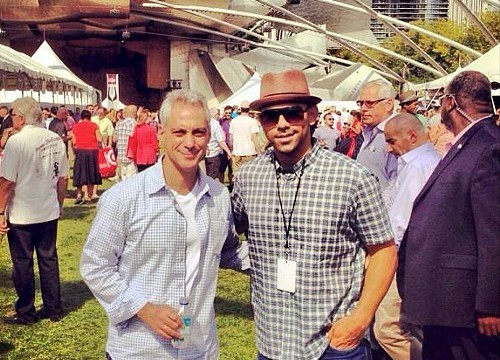 Billy Dec and bro at Chicago Gourmet.