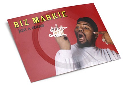 Biz Markie's playable postcard
