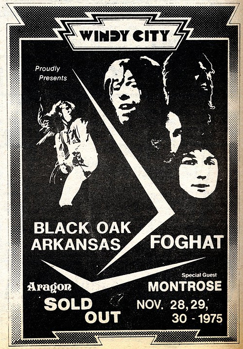 Black Oak Arkansas 1975