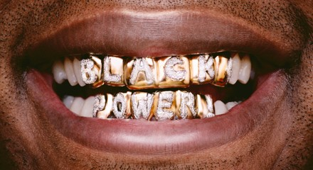 Black Power by Hank Willis Thomas - IMAGE COURTESY OF THE ARTIST AND  MONIQUE MELOCHE GALLERY