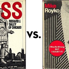 Boss vs. I May Be Wrong, But I Doubt It: Greatest Chicago Book Tournament, round one