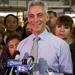 Breaking news: Mayor Rahm appreciates teachers!