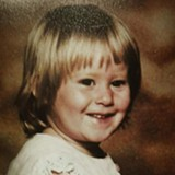 Brianna Stickel was three years old when she was murdered in 1980. - COURTESY JUDI STICKEL