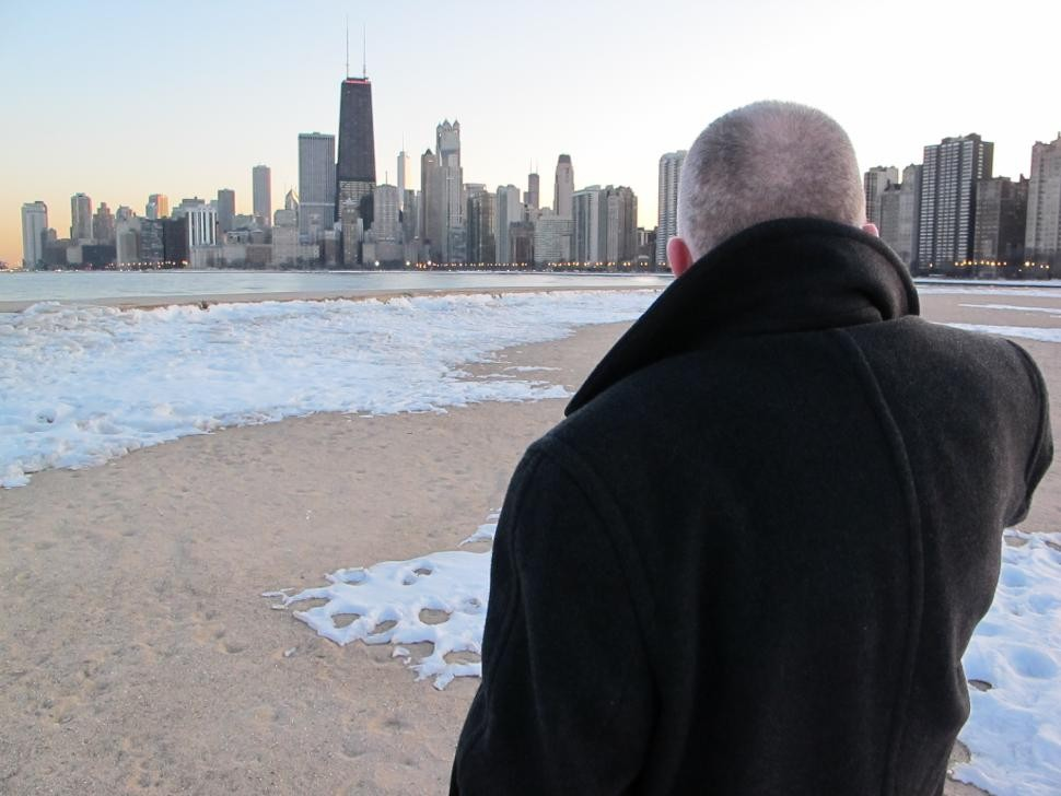 Brötzmann at Lake Michigan
