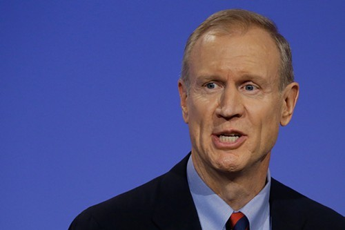 Bruce Rauner, the Republican candidate for governor, has invested in for-profit schools accused of fraud.