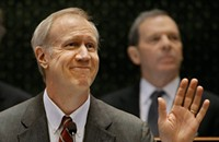 Bruce Rauner gets the 'reform' ball rolling in his crusade to rescue Illinois