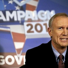 Bruce Rauner's campaign has accused the Sun-Times of an ethical violation.