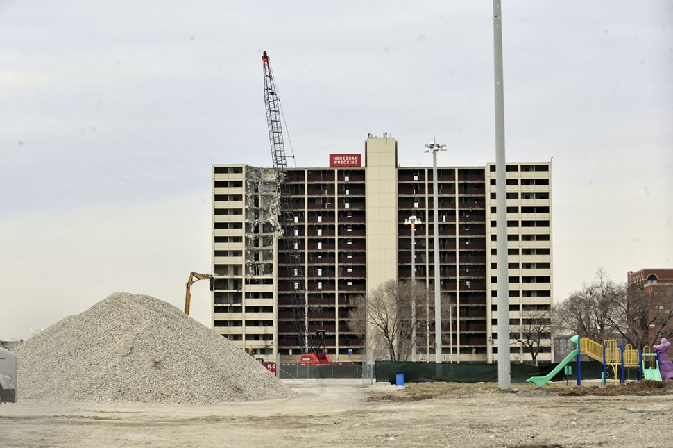 By 2011, wrecking crews had gone to work on the last high-rise at Cabrini-Green