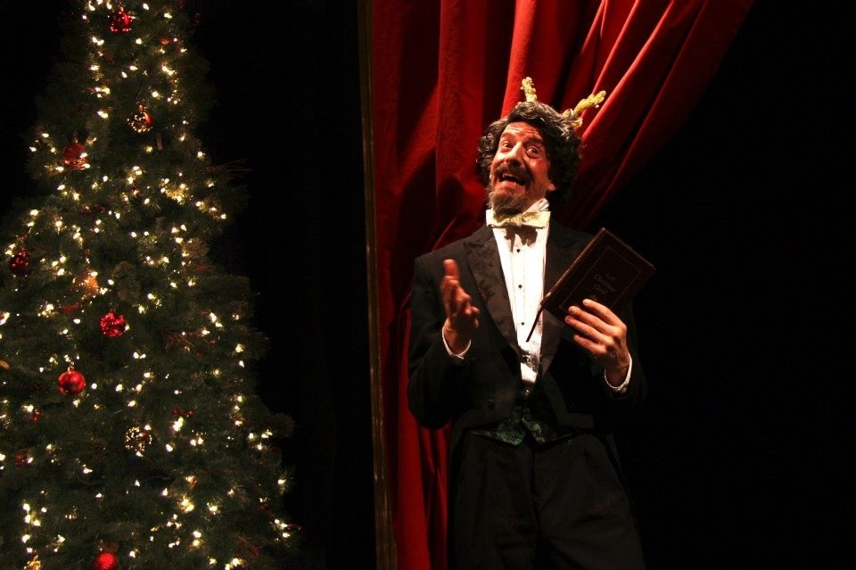 Charles Dickens Begrudgingly Performs A Christmas Carol Again