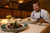 Chef Roland Liccioni at Old Town Brasserie - A. JACKSON