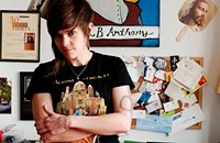 Chicago comic Cameron Esposito, founder of Side Mullet Nation