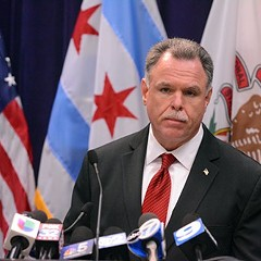 Chicago police superintendent Garry McCarthy: it's time to lock up more gun offenders.