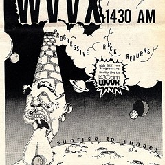 Chicago Reader @ Forty ads from the past: WVVX