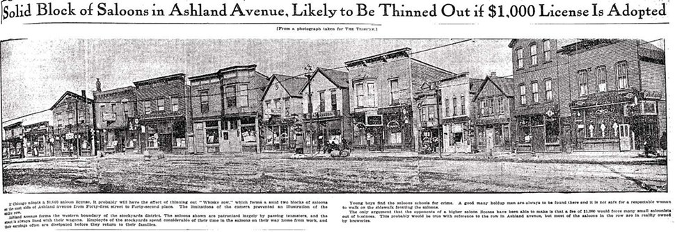 Chicago Tribune, composite photo, 1906
