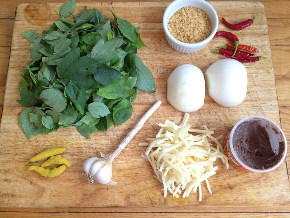 chin baung kyaw ingredients