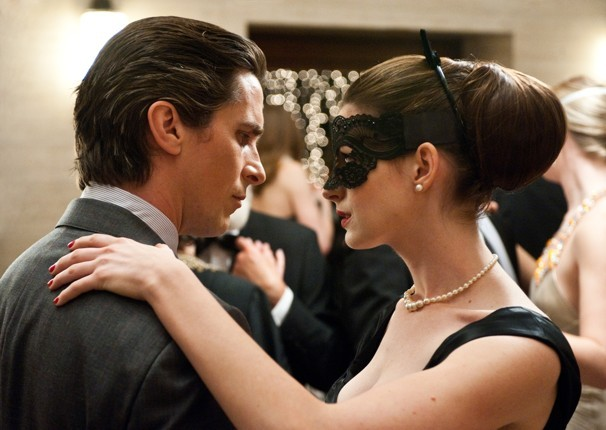 Christian Bale cuts a rug with Anne Hathaway in The Dark Knight Rises