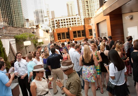 CitySwarm rooftop party