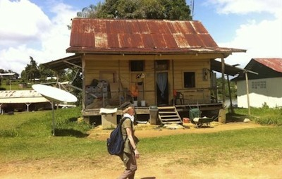 Claire Denis, in Suriname, shooting To the Devil