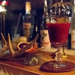 Cocktail Challenge: Pig's blood