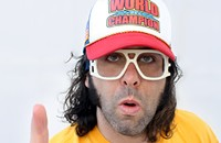Comedian Judah Friedlander defends his title
