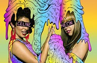 Electro-pop trio Celine Neon celebrates its fun-but-not-faking-it debut EP on Wednesday