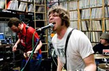 Dan Lang, Nick Myers, and Ryan Murphy of Vee Dee play WHPK's Pure Hype on March 13 - KRISTIN HORST