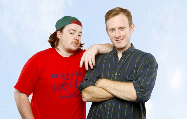 Danny Tamberelli and Michael Maronna - COURTESY THE ADVENTURES OF DANNY & MIKE
