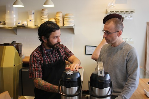 Darko Arandjelovic and Xavier Alexander of Metric Coffee