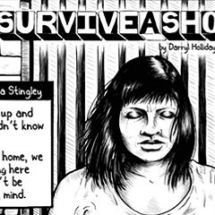 "Darryl Holliday and Erik Rodriguez's ""How to survive a shooting"" was published in the Reader in 2013."