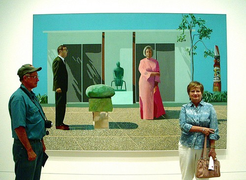 David Hockney at the Art Institute of Chicago