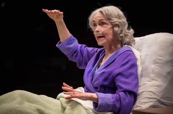 Deanna Dunagan in Lookingglass Theatre's Death Watch