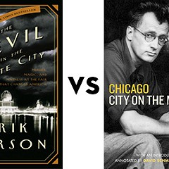 Devil in the White City vs. Chicago: City on the Make: Greatest Ever Chicago Book Tournament round one