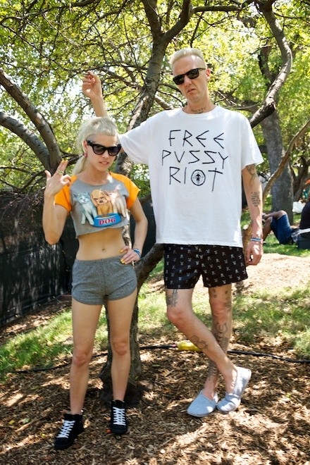 Die Antwoord clearly keep up with current events