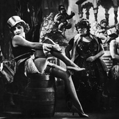Dietrich in The Blue Angel, screening Saturday and Sunday