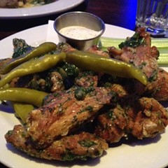dill pickle wings, The Monarch