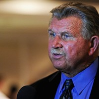 Mike Ditka is trapped in time at the 1992 Republican National Convention