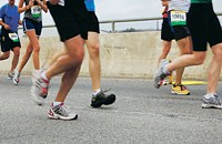 Dodging dehydration and shin splints: a novice's guide to running a marathon