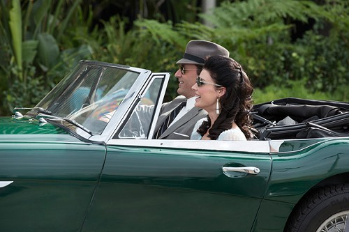 Don Draper (Jon Hamm) and Megan Draper (Jessica Pare) in Mad Men