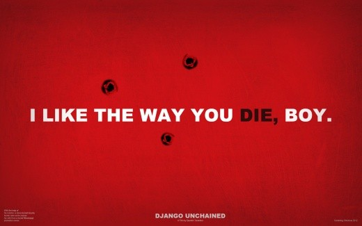 Downloadable wallpaper for Django Unchained