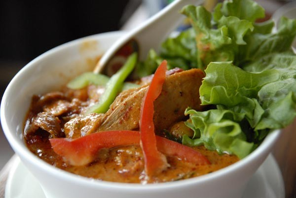 Duck curry at TAC Quick