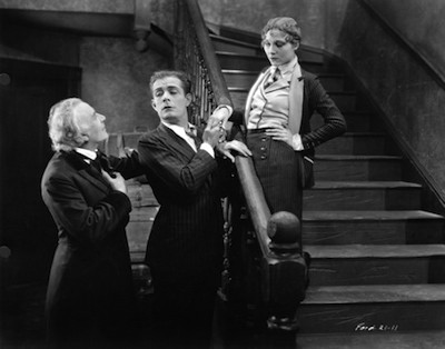 Earle Foxe (center), channeling his inner John Barrymore