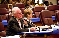 City Council Doesn't Act on New Gun Ordinance Because There's No Ordinance To Act On