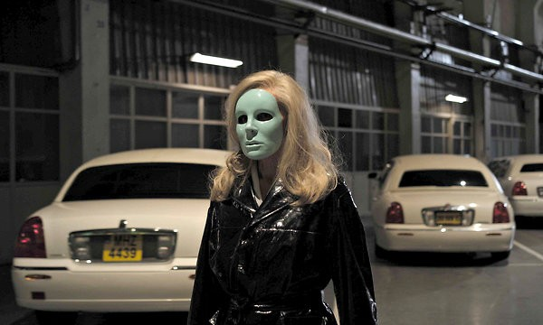 Edith Scob in Holy Motors